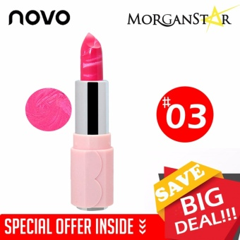 NOVO #5117 Durable Ice Cream Moisturizing Glossy Lipstick #3