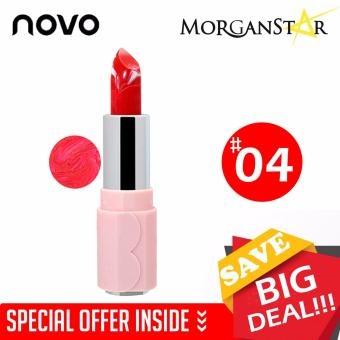 NOVO #5117 Durable Ice Cream Moisturizing Glossy Lipstick #4