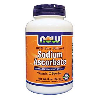 NOW Foods Sodium Ascorbate Powder 8oz/236