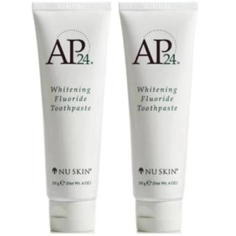 NU Skin AP24 Whitening Flouride Toothpaste Bundle of 2