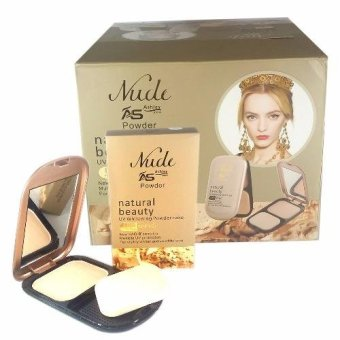 Nude Ashley Shine Natural Beauty UV Whitening Powder Cake w/ SPF15