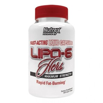 Nutrex Lipo-6 Hers Capsule Maximum Strength Dietary SupplementBottle of 120 Price Philippines
