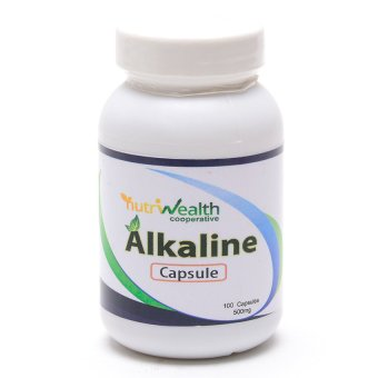 Nutriwealth Alkaline Mineral 500mg Capsules Bottle of 100 Price Philippines