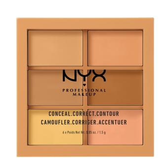 Nyx Professional Makeup 3CP02 Conceal, Correct, Contour Palette - Medium Price Philippines