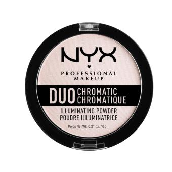 Nyx Professional Makeup DCIP04 Duo Chromatic Illuminating Powder - Snow Rose Price Philippines