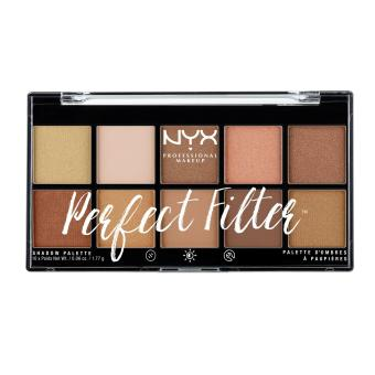 NYX Professional Makeup PFSP01 Perfect Filter Shadow Palette - Golden Hour Price Philippines