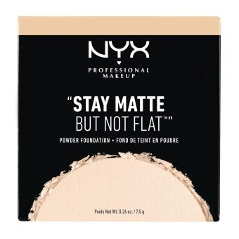 NYX Professional Makeup SMP01PT3 Stay Matte But Not Flat Powder Foundation - Alabaster