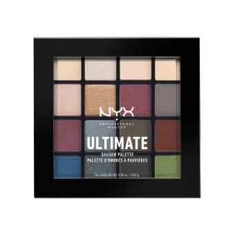 NYX Professional Makeup USP01 Ultimate Shadow Palette - Smokey & Highlight Price Philippines