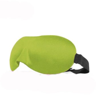 Okdeals 3D Travel Sleeping Sponge Eye Patch Green