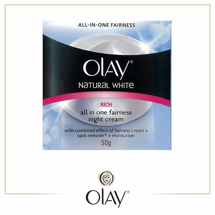 Olay Natural White Rich Night Cream 50g