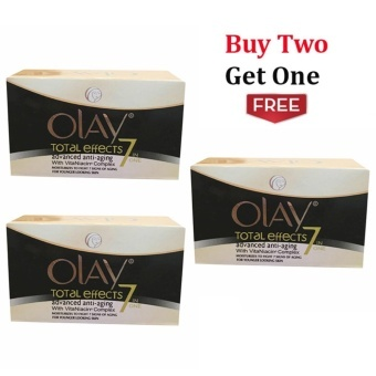 Olay Total Effects 7in One Advanced Anti-Aging with VitaNiacinComplex-Imported Buy 2 Get 1 Price Philippines