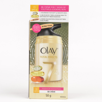Olay Total Effects Anti Ageing Touch Of Foundation Day Cream 50g