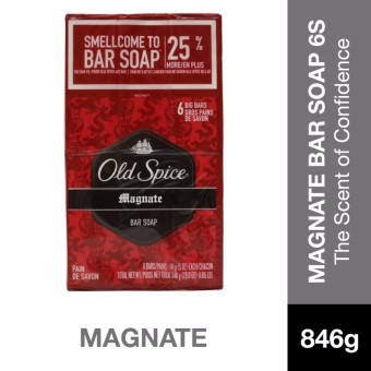 Old Spice Red Zone Magnate Bar Soap 24oz/678g 6's Pack