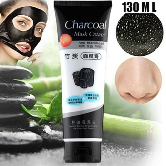 One Goal Blackhead Remover Peel Off Mask Natural Charcoal MaskPurifying Deep Cleansing Acne 130ml (Blue