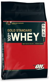 Optimum Nutrition Double Rich Chocolate 100% Gold Standard Whey 10Pounds Bag Price Philippines