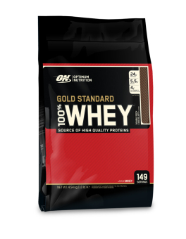 Optimum Nutrition Gold Standard 100% Whey 10lbs (Double Rich Chocolate) Price Philippines