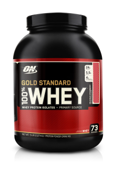 Optimum Nutrition Gold Standard 100% Whey 5lbs (Delicious Strawberry)