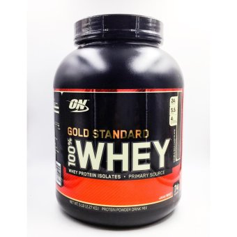 Optimum Nutrition Gold Standard 100% Whey Protein Powder, DoubleRich Chocolate, 5 LB