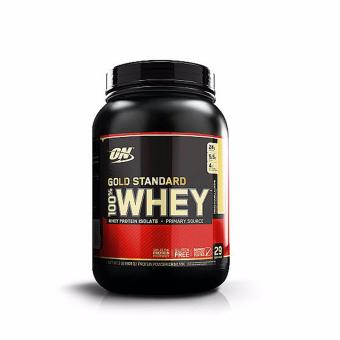 OPTIMUM NUTRITION Gold Standard 100% Whey Protein Powder Drink Mix [2lbs/ 29 servings] - FRENCH VANILLA CREME Flavor