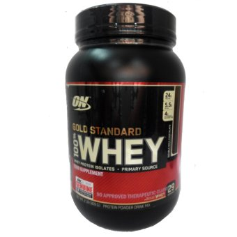 OPTIMUM NUTRITION Gold Standard 100% Whey Protein Powder Drink Mix[2lbs/ 29 servings] - DOUBLE RICH CHOCOLATE Flavor