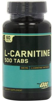 Optimum Nutrition L-Carnitine Dietary Supplement 500mg- Bottle of60
