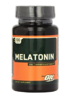 Optimum Nutrition Melatonin 3mg Tablets- Bottle of 100