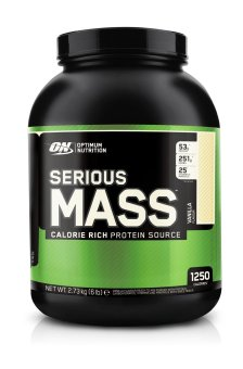 Optimum Nutrition Serious Mass 6 Pounds (Vanilla) Price Philippines