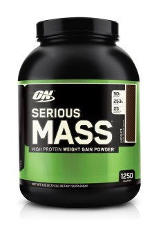 Optimum Nutrition Serious Mass 6lbs (Chocolate) Price Philippines