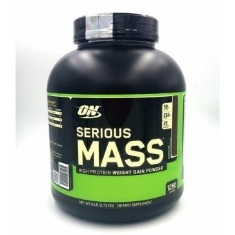 Optimum Nutrition Serious Mass High Protein Weight Gain Powder(Chocolate) 6 lbs Price Philippines