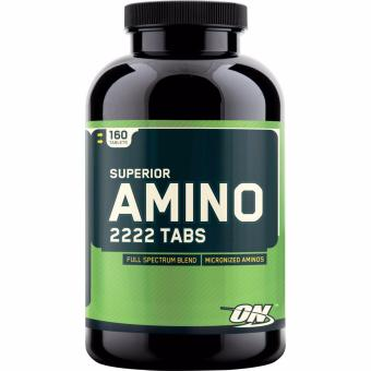 Optimum Nutrition Superior Amino 2222 Full Amino Acid Spectrum, 160Tablets