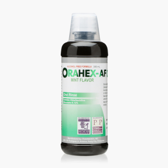Orahex-AF Mint Flavor Oral Rinse 380 mL