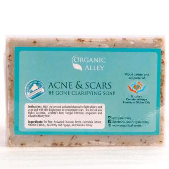 Organic Alley Acne and Scars Be Gone Soap 100g