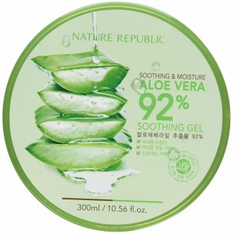 Original Nature Republic Soothing and Moisturizing Aloe Vera 92% Soothing Gel 300ml
