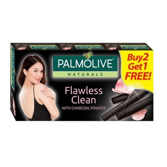 Palmolive Naturals FLAWLESS CLEAN 115g 3-bar Value Pack Buy 2 Get1Free