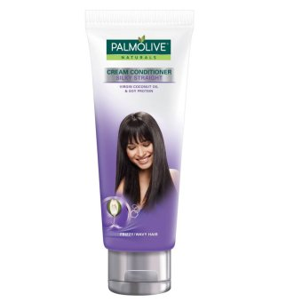 Palmolive Naturals Silky Straight  Cream Conditioner (frizzy wavy hair) 180ml