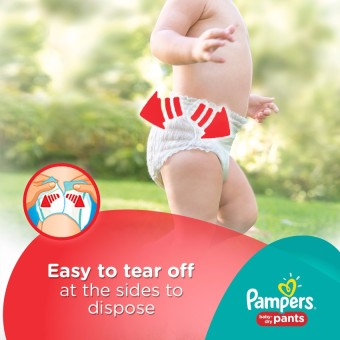 Pampers Baby Dry Pants L 18s - 6 Packs - 5