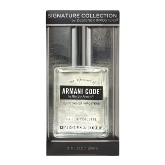 PARFUMS de COEUR Giorgio Armani Armani Code Eau De Toilette for Men59ml