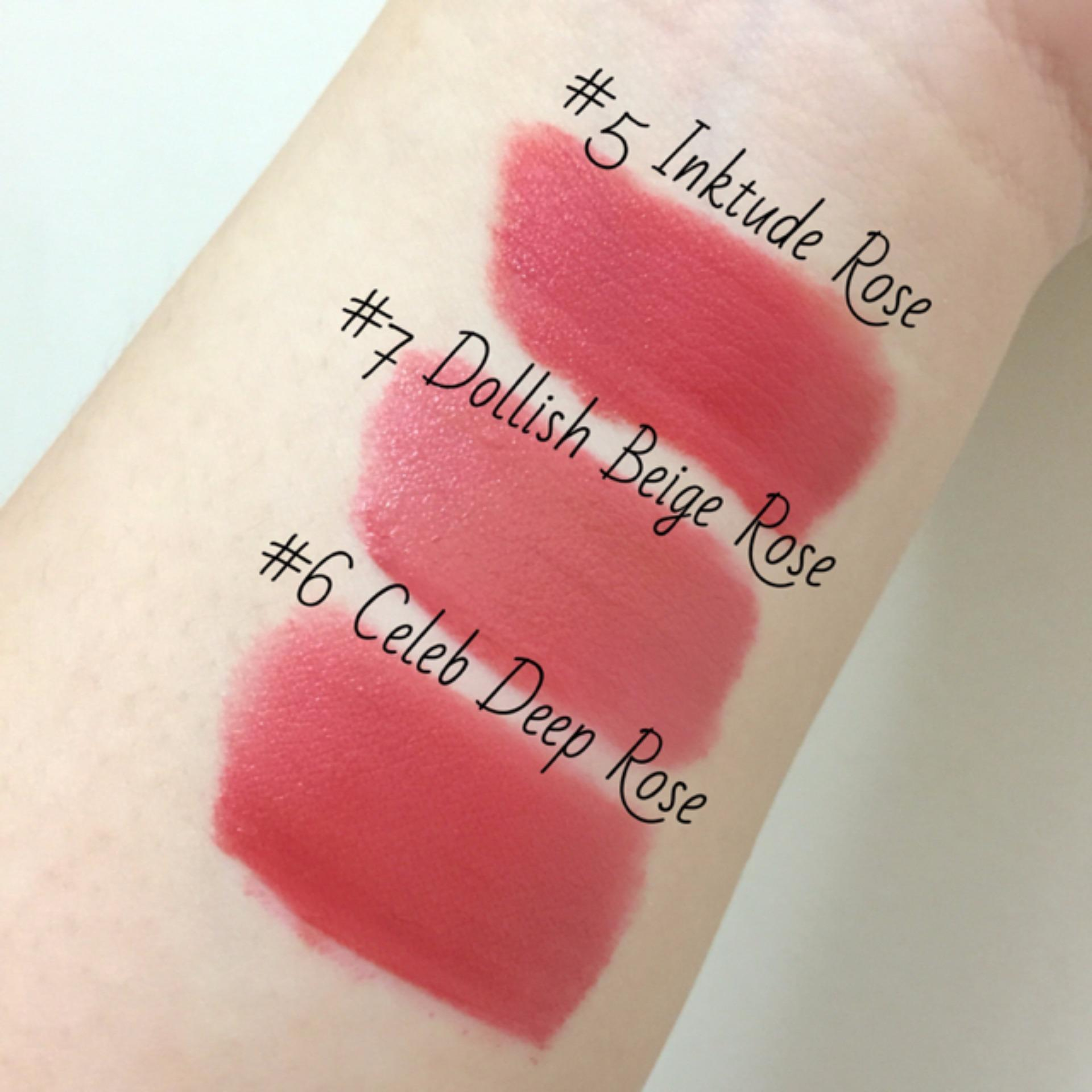 Peripera Peri39s Ink The Velvet In Celeb Deep Rose Review Korean Airy 8g Original Peris 06