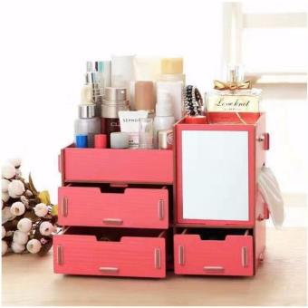 Phoebe's Wooden DIY Make Up organizer Box 05