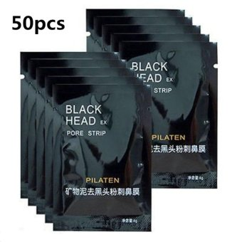 Pilaten Facial Minerals Conk Nose Blackhead Remover Mask Set of 50