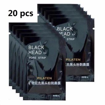 Pilaten Facial Minerals Nose Blackhead Remover Mask (Set of 20)