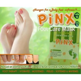 Pinx Foot Care Exfoliating Mask ( 3 Pair )