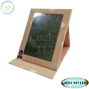 Pocket Makeup Mirror Brown