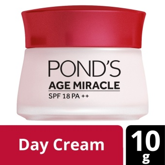 POND'S AGE MIRACLE DAY CREAM 10g .
