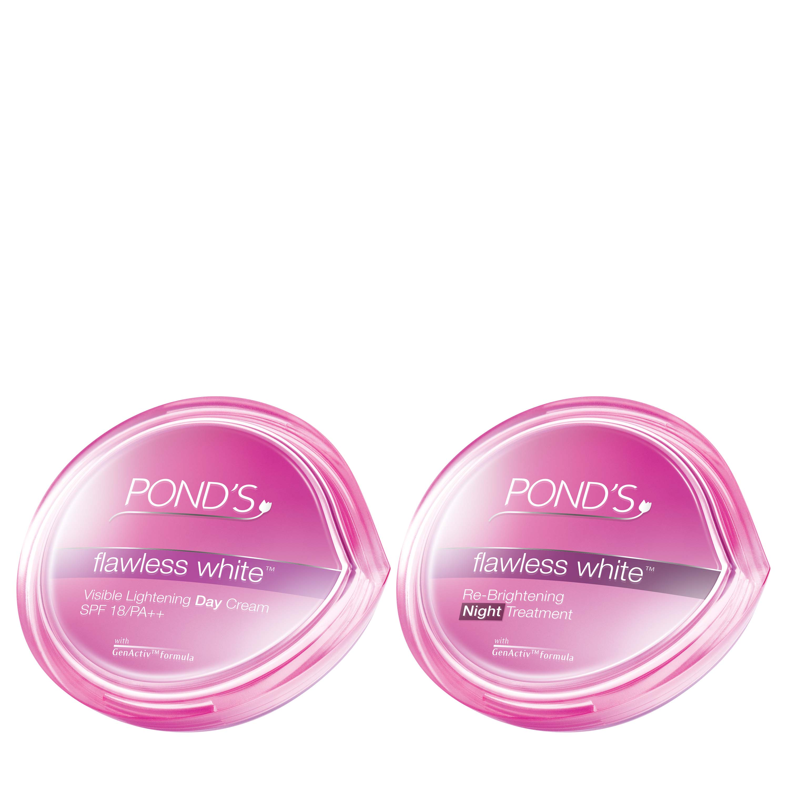Philippines Ponds Flawless White Day To Night Ritual Kit 50ml Flawles Cream