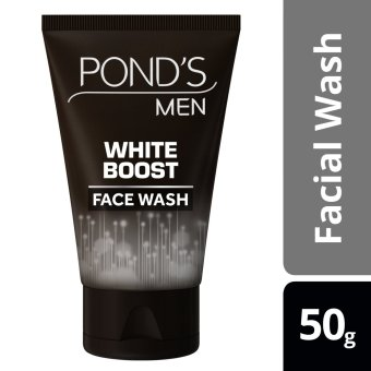 PONDS MEN FACIAL WASH WHITE BOOST 50G