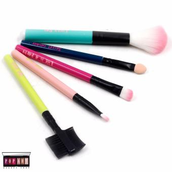 Pop Art Colorful Make up Brush Set
