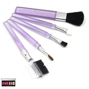 Pop Art Mini Make up Brush Set (Purple)