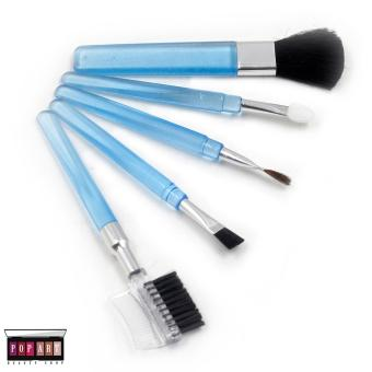 Pop Art Mini Make up Brush Set (Sky Blue)