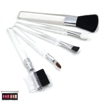 Pop Art Mini Make up Brush Set (Transparent)
